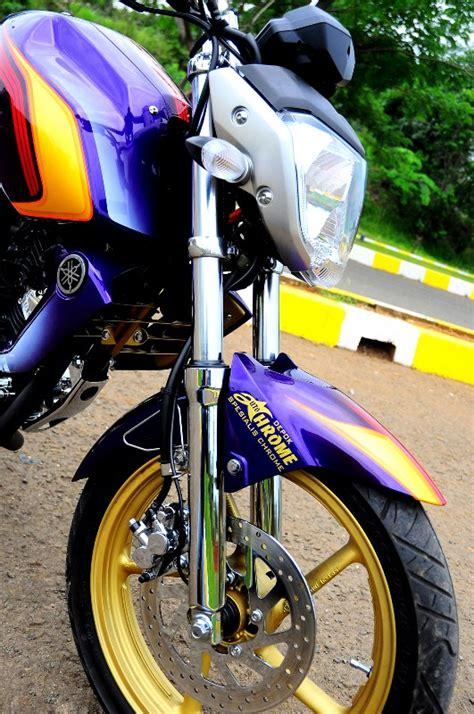 Shockbreaker Depan Byson Yamaha Byson Maskot Paling Kinclong Gilamotor