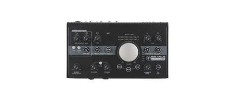 mackie big knob studio monitor controller 2x2 usb audio