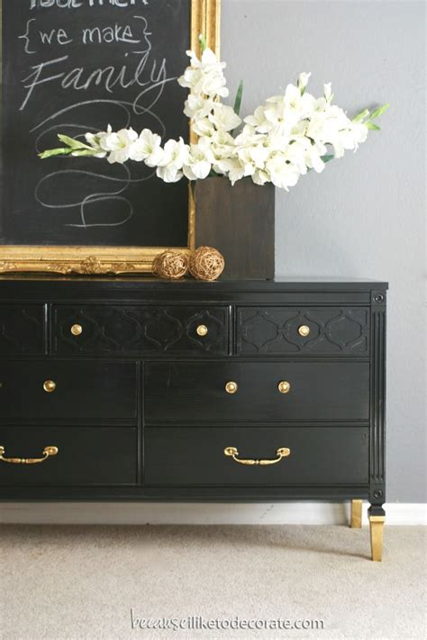 black and rose gold dresser 17 best images about black and gold furniture on