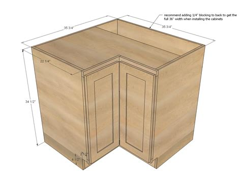 kitchen corner cabinet dimensions ana white 36 quot corner base pie cut kitchen cabinet