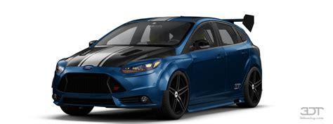 3dtuning of ford focus 5 door hatchback 2012 3dtuning unique on line car configurator for
