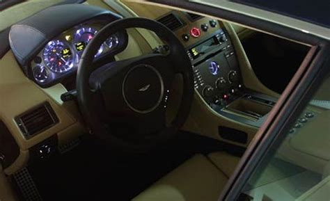 Aston Martin Db9 Interior Pictures by Car And Driver