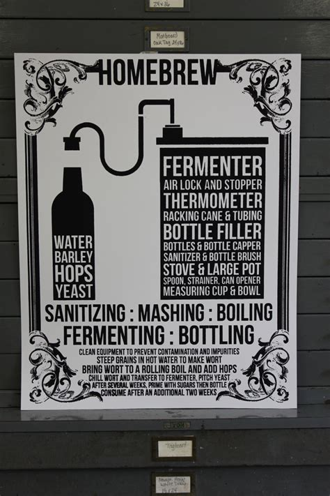 home brew poster s gift cave by iscreenyouscreen