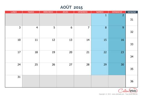 Calendrier Aout 2015 Map Calendrier Ao 251 T 2015