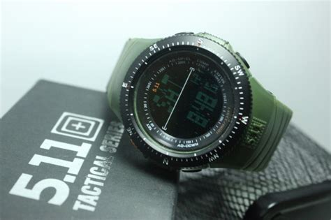 5 11 Tactical Series Rubber jual jam 5 11 tactical field ops hijau army