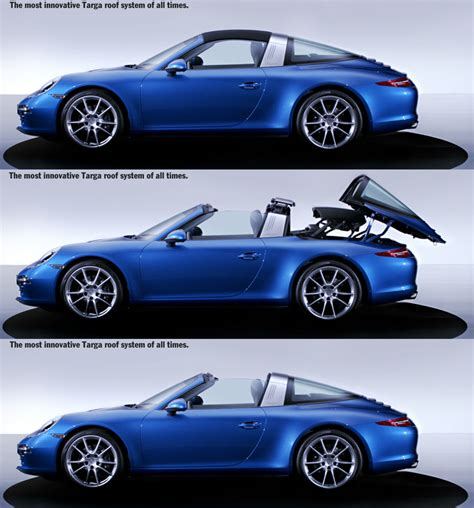 targa porsche new porsche 911 targa first pictures revealed total 911