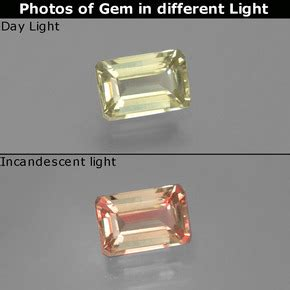 Color Change Diaspore 4 82ct 0 8ct green pink color change diaspore gem from turkey