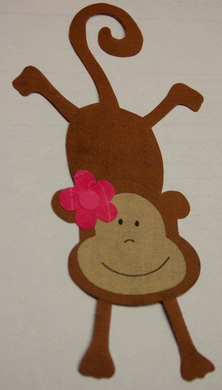 monkey applique monkey applique vank 250 še monkey craft and