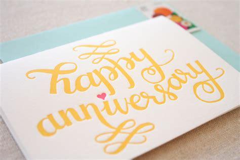 Stationery A ? Z: Anniversary Cards