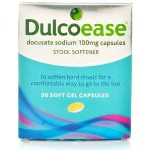 dulcoease stool softener stool softening treatments
