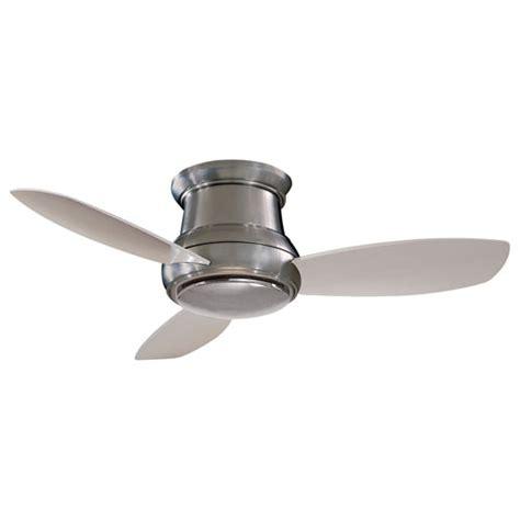 concept ii ceiling fan concept ii flush 52 inch ceiling fan minka aire hugger
