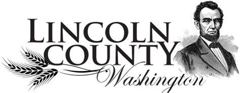 lincoln county assessor wa lincoln county wa