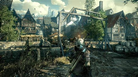 witcher 3 console witcher 3 console resolution and framerate revealed gpu
