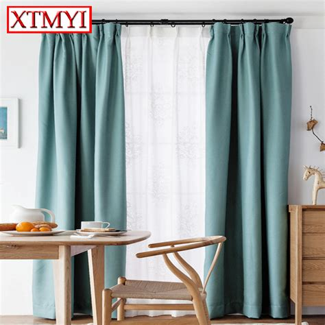 short curtains for living room aliexpress com buy europe solid colors blackout curtains