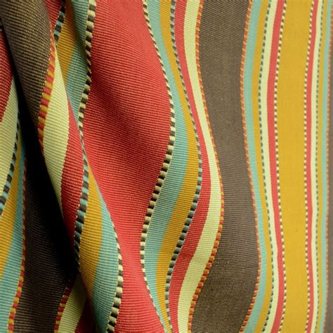 southwest drapery fabric d2451 apache brick stripe southwest fabric by the yard