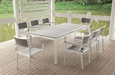 aluminum outdoor patio furniture photos design white