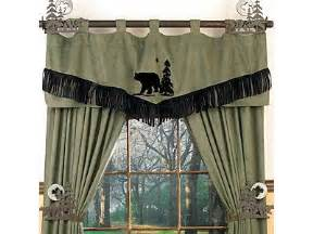 Curtains For Cabins Window Treatment Ideas Everything Log Homes