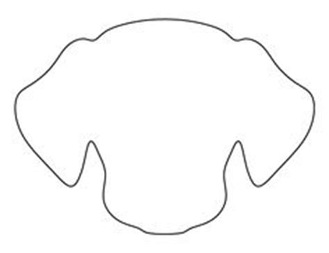 cow face pattern use the printable outline for crafts