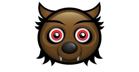 werewolf emoticon symbols emoticons