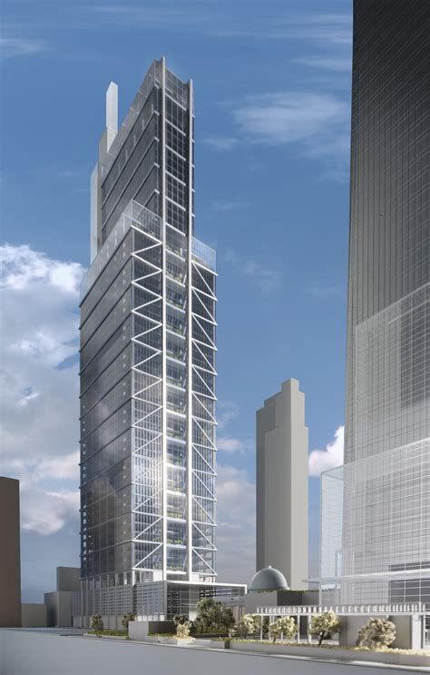 Gallery of Foster   Partners Unveil 1,121 Foot Comcast