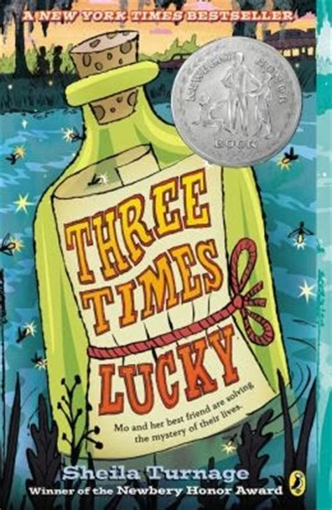 lucky books lesa s book critiques three times lucky by turnage
