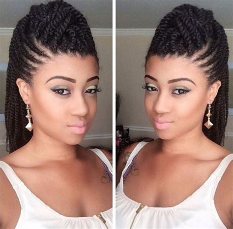 natural hairstyle w jewels rubber band for holidays 70 best black braided hairstyles that turn heads in 2017