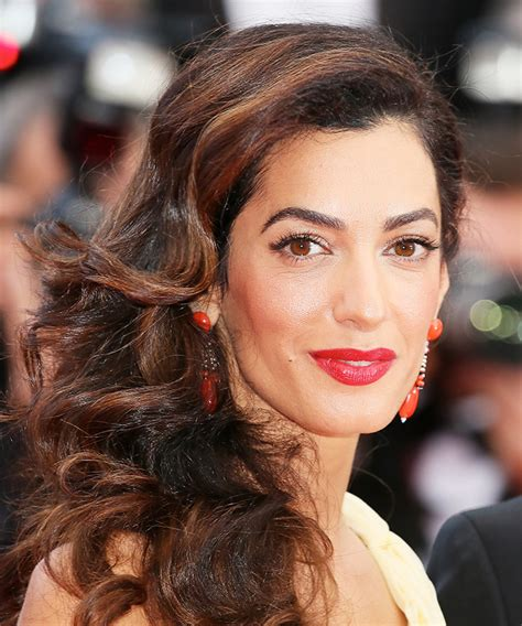 is amal clooney hair one length mane addicts manespiration the 13 best tressed from
