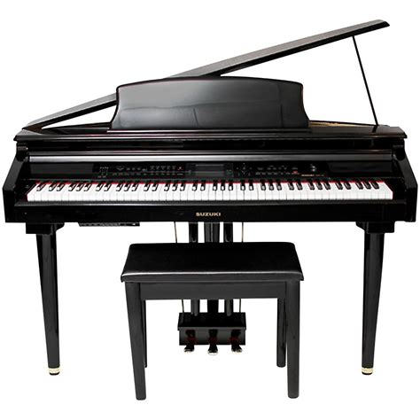 Suzuki Digital Grand Piano Suzuki Mdg 300 Bl Micro Grand Digital Piano Ebay