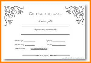 free business gift certificate template doc 585315 free business gift certificate template 12