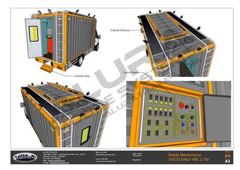mobile workshop trailer mobile workshop container trucks alura trailer