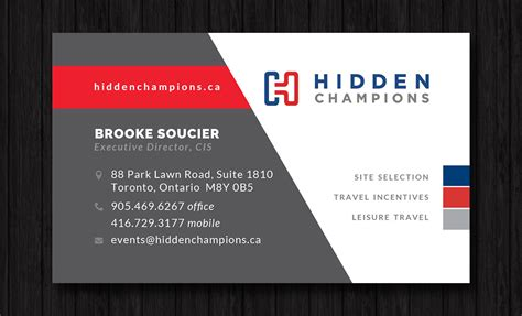 design management consultants hamilton business cards oakville ontario best business cards
