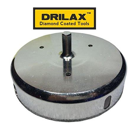 1 Inch Ceramic Tile Drill Bit - drilax 4 7 8 inch drill bit saw smaller than