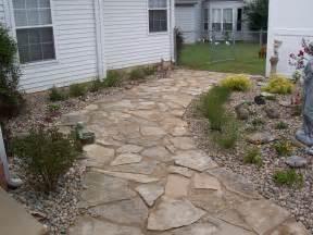 pavers flagstone landscaping st louis landscape
