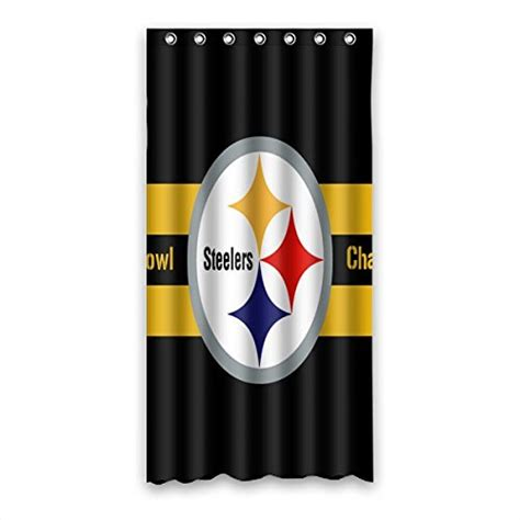 steeler shower curtain steelers bath rugs pittsburgh steelers bath rug steelers