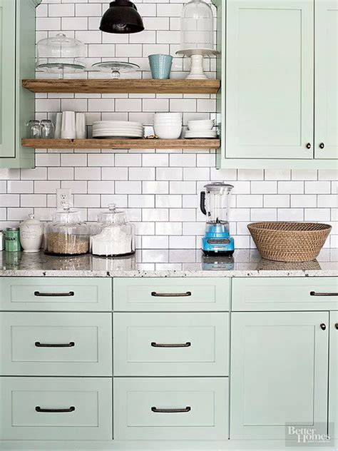 Kitchen Cabinet Color | 80 cool kitchen cabinet paint color ideas noted list