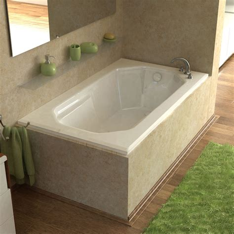 rectangular bathtubs venzi irma 36x60 rectangular soaking bathtub modern