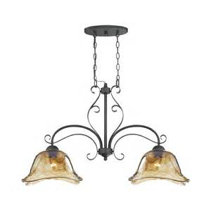 Glass Island Lights Millennium Lighting 7222 Bg Chatsworth Burnished Gold Two Light Island With Umber Swirl Glass