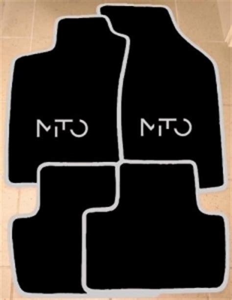 jeu de tapis alfa romeo mito 4 pieces gamme script mito color