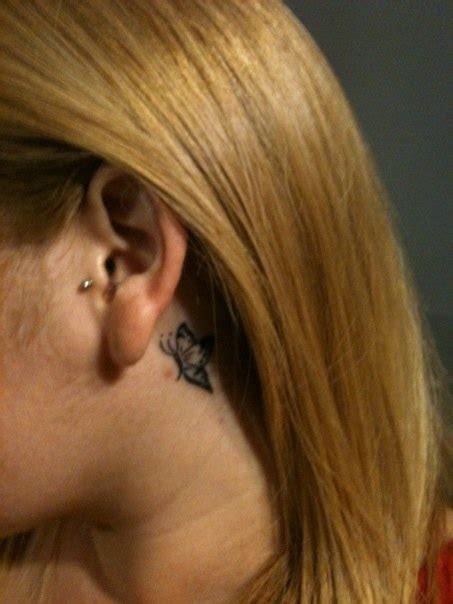 tattoo butterfly ear butterfly ear tattoo tattoos that i love pinterest