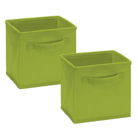 Closetmaid Cubeicals Fabric Drawers 2 Pack Closetmaid Cubeicals Mini Fabric Drawers By Closetmaid At