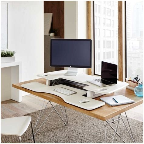 diy stand up desk ikea standing desk hacks with