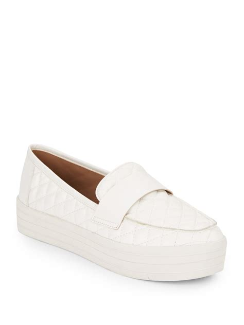 Steve Madden Quilted Slip On Sneakers by Steve Madden Howell Quilted Slip On Platform Sneakers In