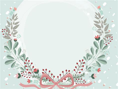 Flowers Framed Backgrounds Presnetation Ppt Backgrounds Flower Background For Powerpoint