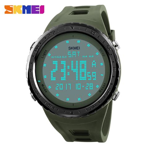 Skmei Waterproof Jam Tangan Digital 1054 skmei jam tangan digital pria dg1246 blue