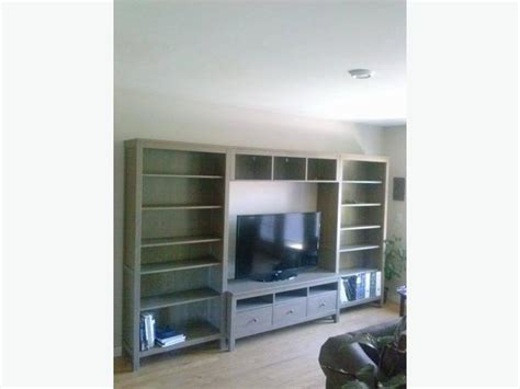 ikea hemnes bookcase and tv stand esquimalt view royal
