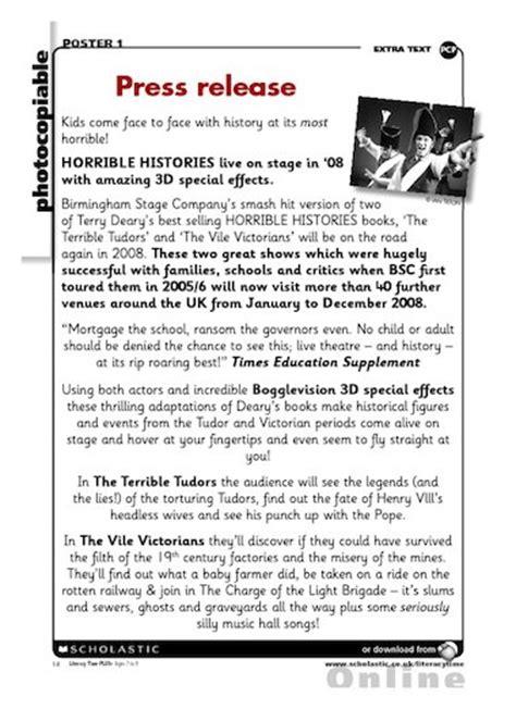 press release persuasive writing free primary ks2
