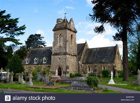 saint mark s church englefield berkshire stock photo st jude s church englefield green egham surrey tw20
