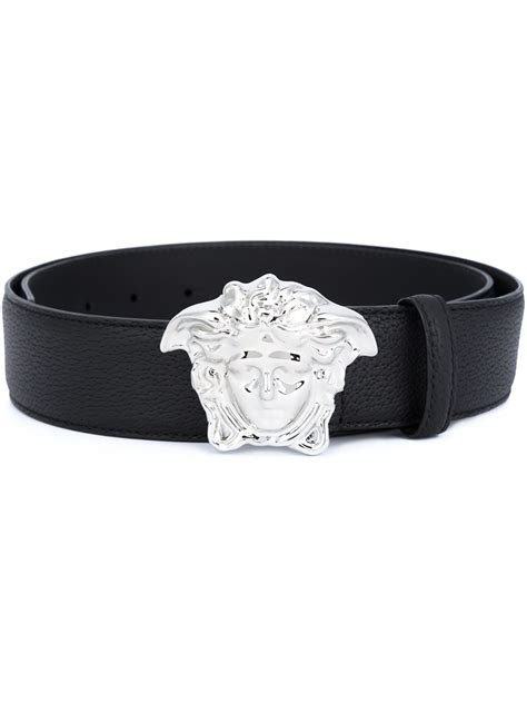 Belty Palazo versace palazzo medusa belt in black for lyst