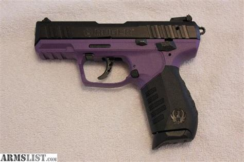 colored handguns armslist for sale ruger sr 22 purple colored