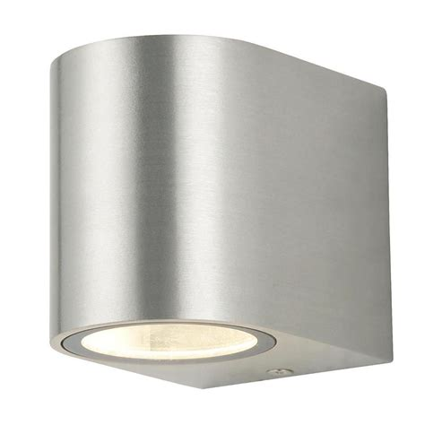 stainless steel outdoor lights 1 light outdoor wall light stainless steel from litecraft